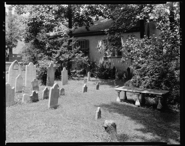 St. George's Church, churchyard, Fredericksburg, Virginia