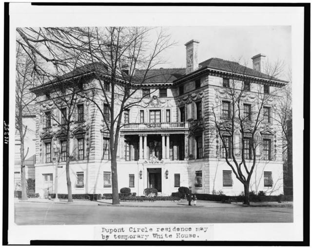 [The Patterson House, owned by Mrs. Elmer Schlesinger, 15 Dupont Circle, Washington, D.C.]