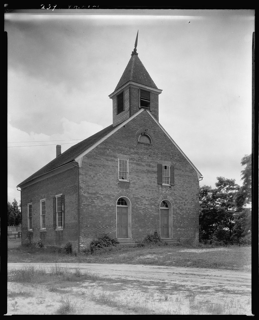 Union Church on Hill, Falmouth, Stafford County, Virginia