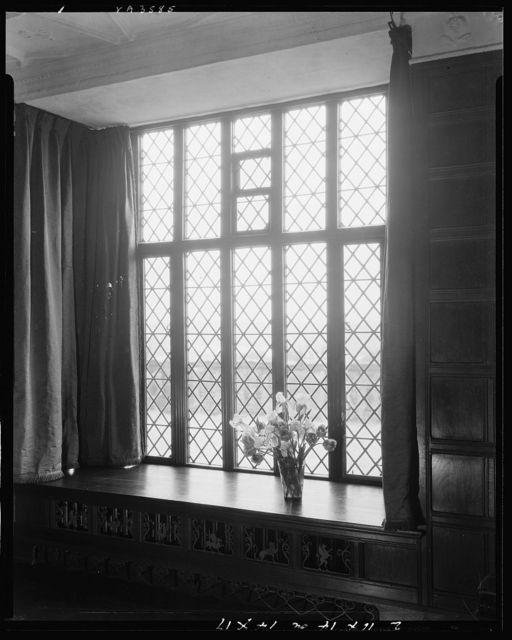Agecroft Hall, window, Richmond, Henrico County, Virginia