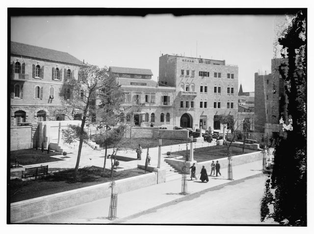 Brit. [i.e., British] & Foreign Bible Society Building, view from across plaza, 1928