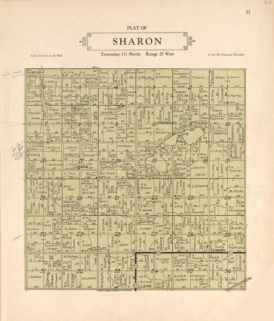 Plat book of Le Sueur County, Minnesota : showing township plats, city and village plats, sub-division plats, county map, government surveys, patrons directory, Minnesota history, county officers, city and village officers, etc. /