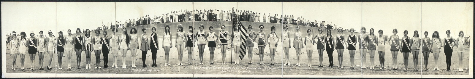Third International Pageant of Pulchritude and Ninth Annual Bathing Girl Revue, June 3, 4, 5, 1928, Galveston, Texas