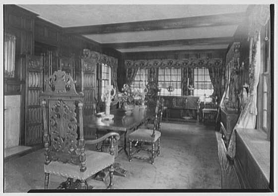 Thomas A. O'Hara, residence in King's Point, Great Neck, Long Island. Dining room