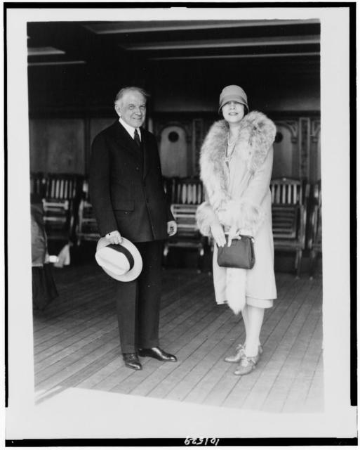 W.C. Durant, motor magnate, & wife / photo. by Bain News Service, New York.