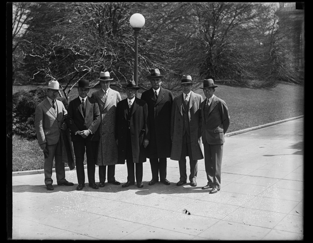 Assn. of Dentists visit Hoover [White House, Washington, D.C.]