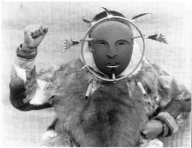 Ceremonial mask--Nunivak