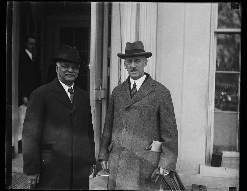[Charles Curtis and Henry L. Stimson]