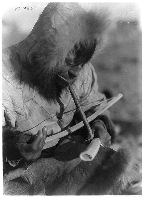 Drilling ivory--King Island