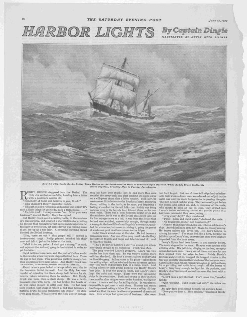 Extra! Extra! [article from The Saturday Evening Post, June 15, 1929, on the subject of broadsides, Philadelphia, 1929]
