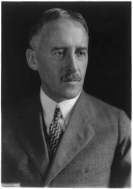 [Henry Lewis Stimson, 1867-1950, bust portrait, facing right]