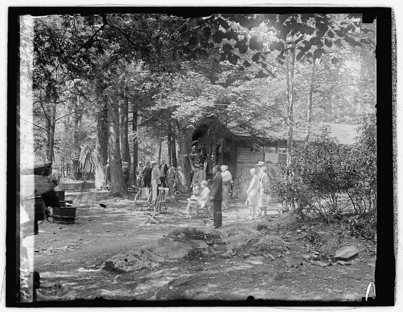 Hoover camp on the Rapidan, 81729