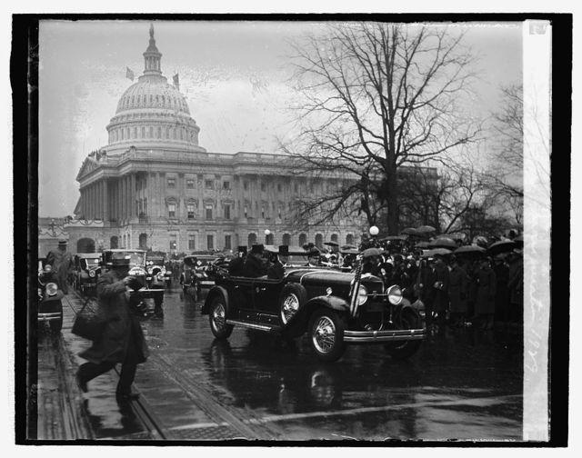 Hoover Inauguration, 1929