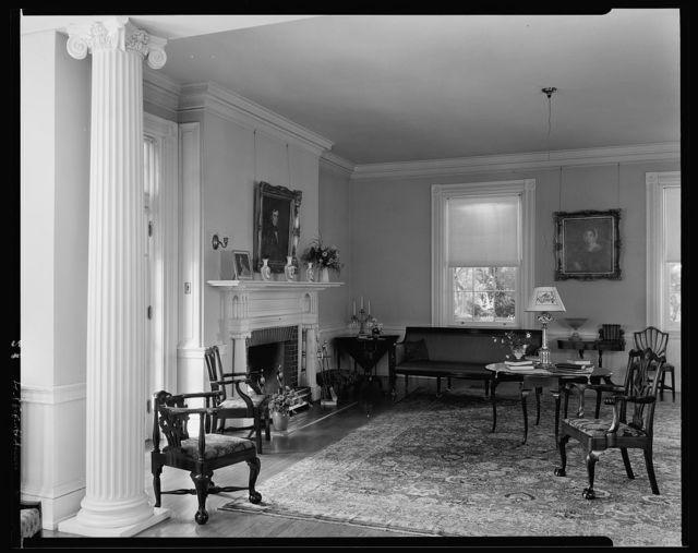 Rockland, living room, Leesburg vic., Loudoun County, Virginia