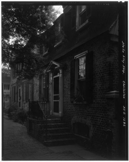 Stolls Alley, Charleston, Charleston County, South Carolina
