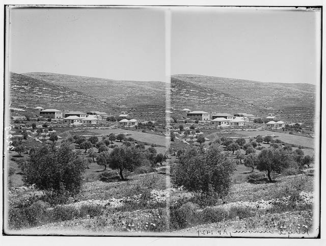 The Keren Hayesod. Agricultural colonies on Plain of Esdraelon. Kiriyath Anabim. Dilb dairy colony near Jerusalem.
