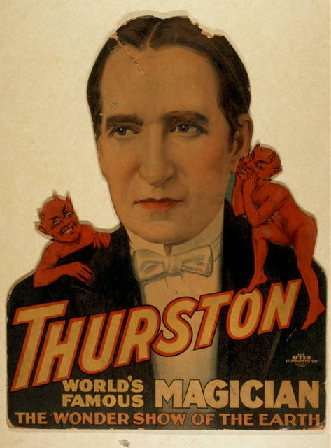 Thurston, world's famous magician the wonder show of the earth.