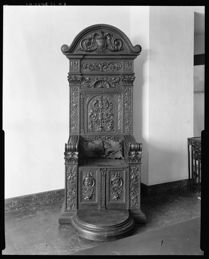 Virginia House, Mexican carved furniture, Richmond, Henrico County, Virginia