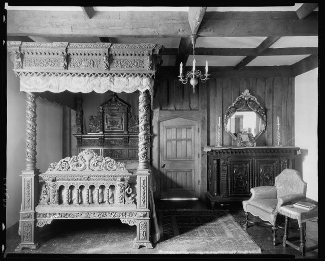 Virginia House, Sulgrave Bedroom, Richmond, Henrico County, Virginia