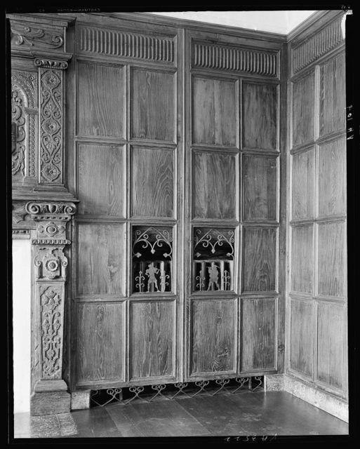 Virginia House, wrought iron radiator screens, Richmond, Henrico County, Virginia