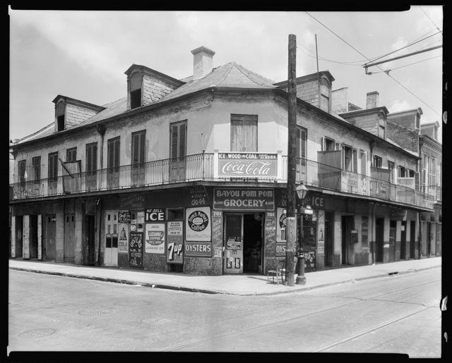 701 Bourbon St., corner St. Peters St., New Orleans, Orleans Parish, Louisiana