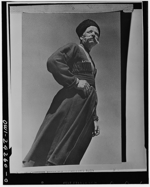 A Kuban Cossack in the USSR (Union of Soviet Socialist Republics)