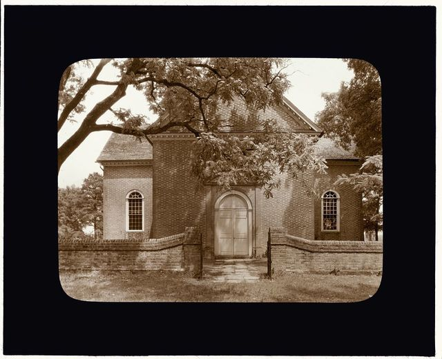 [Abingdon Church, White Marsh vicinity, Gloucester County, Virginia. Entrance]