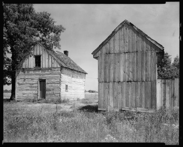 Alsop Farm, outbuildings, Spotsylvania County, Virginia