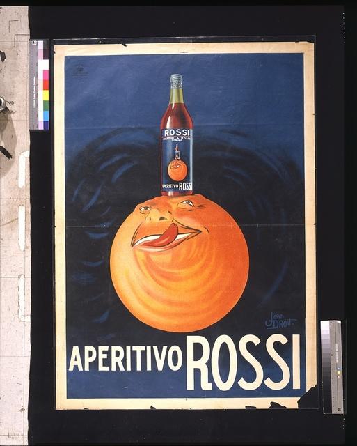 Aperitivo Rossi / Jean Droit.