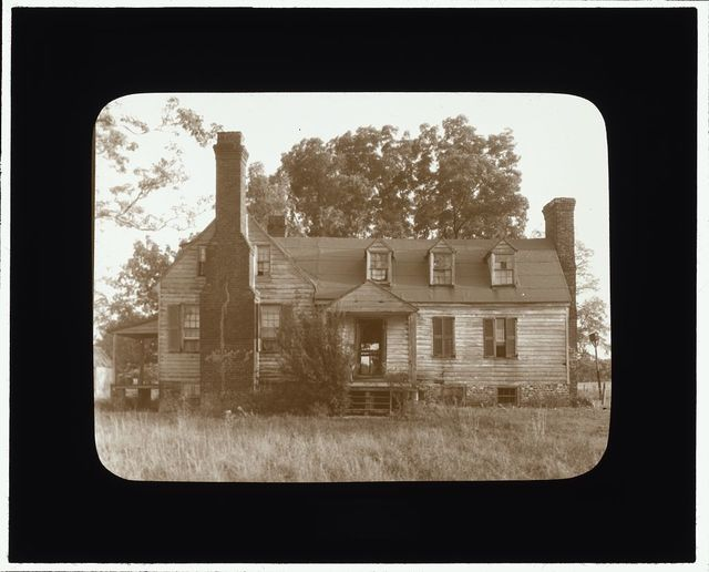 [Apperson Farm House, New Kent County, Virginia. Entrance facade]