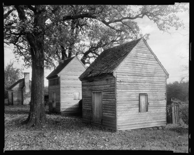 Bachelors' Hall outbuildings, Danville, Pittsylvania County, Virginia