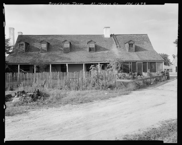 Bradburn Farm, St. Mary's County, Maryland