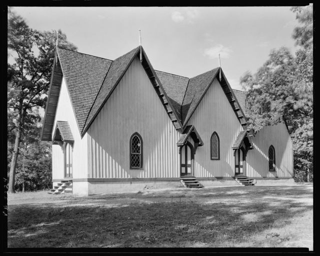 Briery Church, Keysville vic., Prince Edward County, Virginia