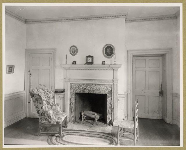Brownsville parlor, Nassawadox, Northampton County, Virginia