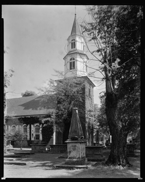 Bruton Parish Church, Williamsburg, James City County, Virginia