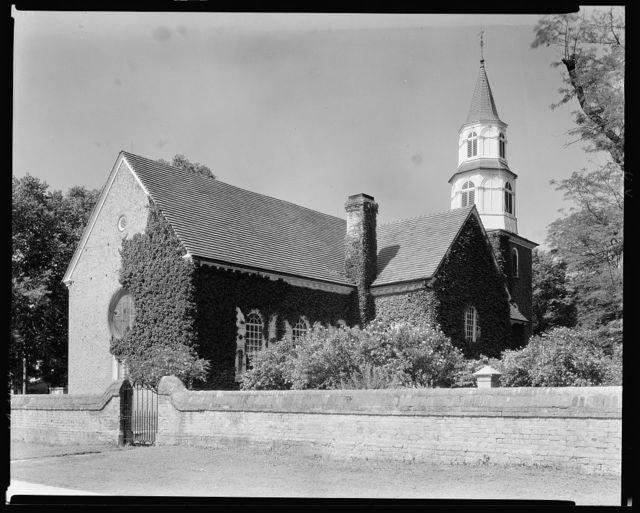 Bruton Parish Church, Williamsburg, James City County, Virginia