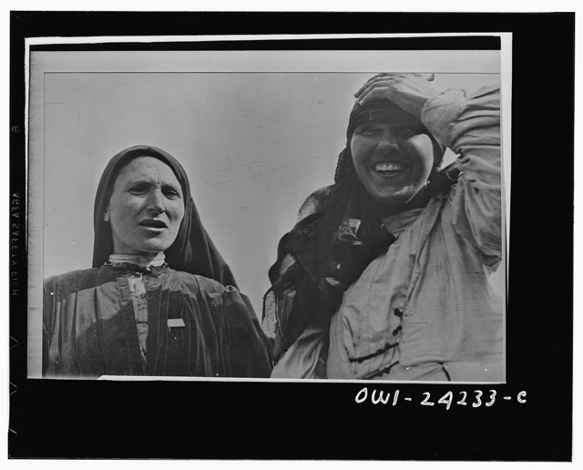 Dagestan, North Caucasus, USSR (Union of Soviet Socialist Republics). Women members of the central executive committee