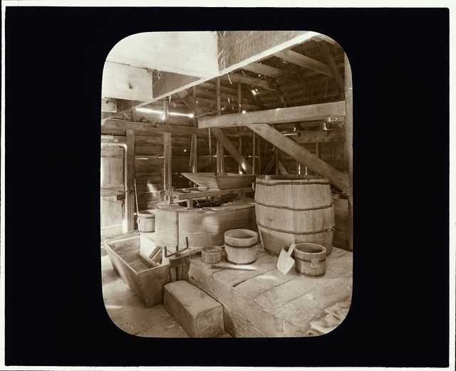 [Drummond Mill, store, and cabin, Lee Mont vicinity, Accomac County, Virginia. Interior]