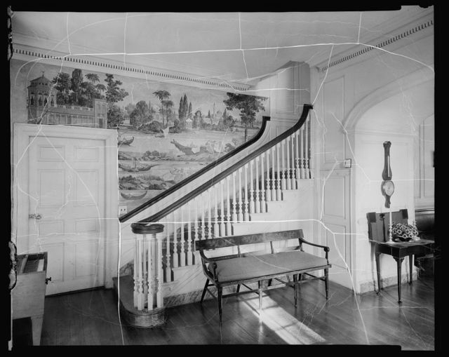 Eyre Hall, Cherrystone Inlet, Northampton County, Virginia
