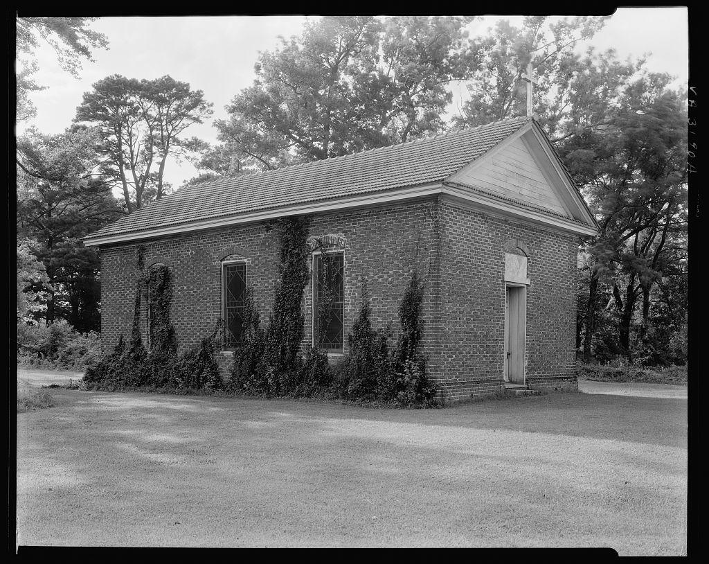 Glebe Church, Jordan's Mill Hill, Nansemond County, Virginia
