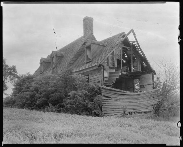 Goffigan House ruins, Wachapreague vic., Accomac County, Virginia