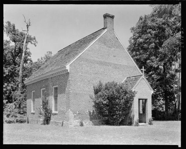 Hickory Neck Church, Blissland Parish, Toano, James City County, Virginia