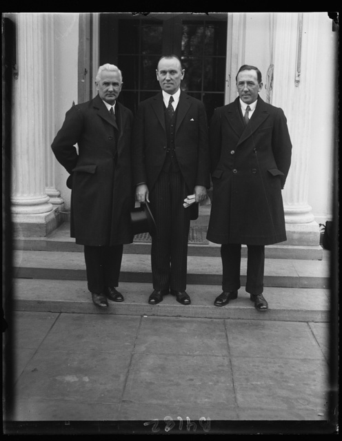 Irish leaders at White House, Barry M. Egan, MacWhite, Sean French