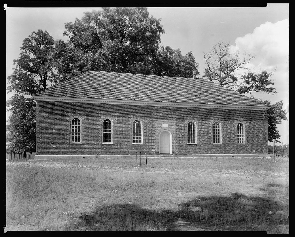 Little Fork Church, Culpeper, Culpeper County, Virginia