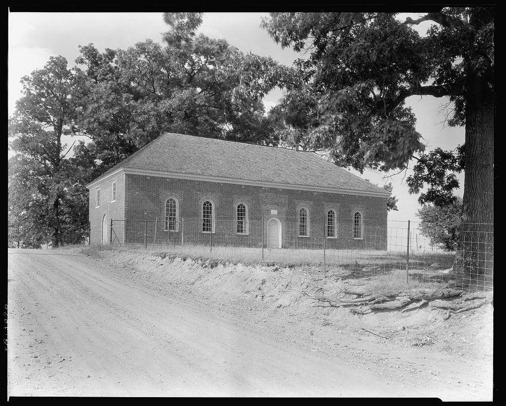 Little Fork Church, Culpeper, Culpeper County, Virginia