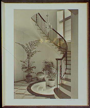 Miami Beach : architecture and gardens. Staircase