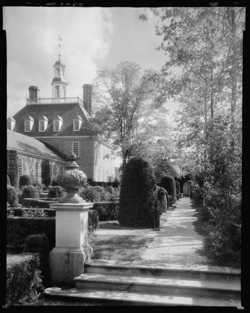 Palace Gardens, Williamsburg, James City County, Virginia