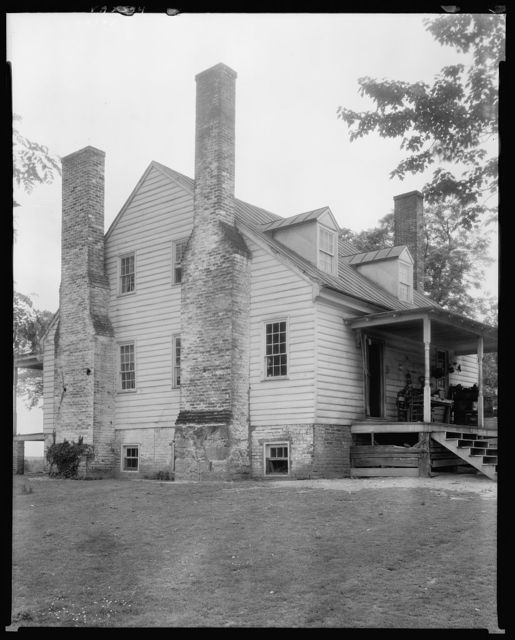 Reynolds House and outbuildings, Fredericksburg vic., Spotsylvania County, Virginia
