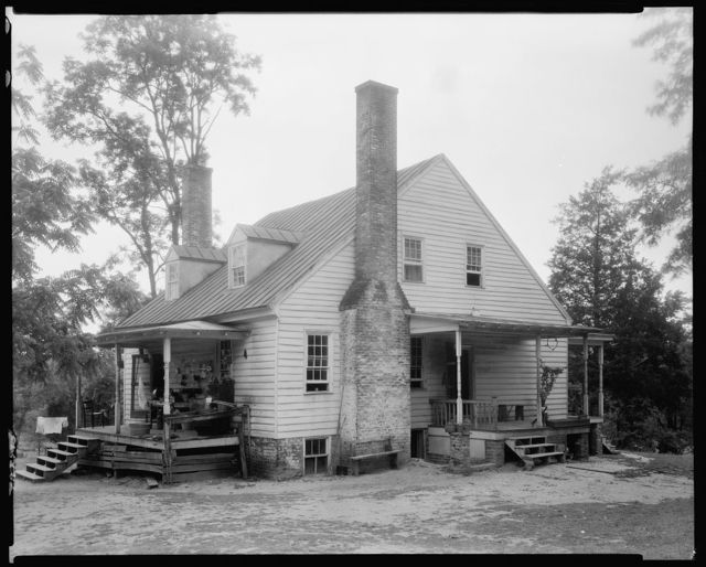 Reynolds House and outbuildings, Fredericksburg vic., Spotsylvania County, Virginia