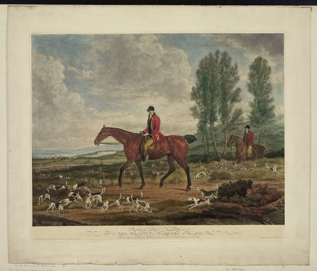 Richard Davis, huntsman to his majesty's harriers, 1789-1812